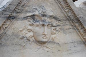 Roman ruins of Caesarea Maritima in Israel